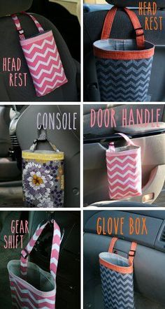 cool Car Litter Bag - Car Trash Bag - Car Garbage Bag - Gray Grey Chevron - Car Organizer My Organizing Resources Check more at http://autoboard.pro/2017/2017/01/14/car-litter-bag-car-trash-bag-car-garbage-bag-gray-grey-chevron-car-organizer-my-organizing-resources/