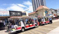 Atlantic City, New Jersey Boardwalk Tram Tours | Transportation