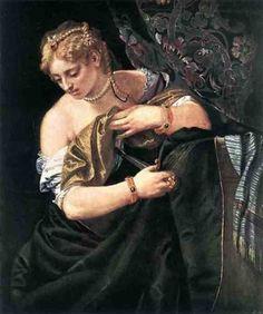 Лукреция. 1580