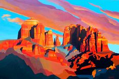 Grand Canyon Sunset by Rafe Terry