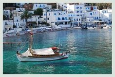 To the southwest of Crete, in Chania, is the Loutro. This is a small, traditional fishing village where you can reach only by boat from Sfakia and Agia Roumeli,