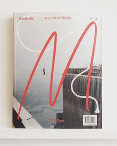 Utterly fascinating #europeandesignaward winning #dutch #design & #crafts mag MacGuffin just in exploring #rope & #knots