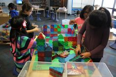 """Magna-Tiles are one of favourite materials to design, construct and create with! @Magnatiles"""