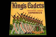 King's Cadets California Green Asparagus