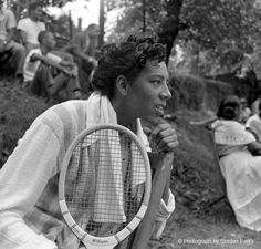 related pictures gordon parks photos of celebrities Search . Social Photography, Tennis Photography, Althea Gibson, American Tennis Players, Wilma Rudolph, Tennis Legends, Person Of Color, Gordon Parks, Park Photos