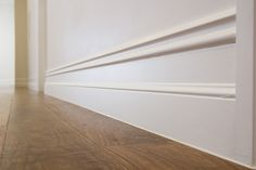 A stunning French Provincial House using Intrim Groups SK86 skirting & architrave profile, and the CR01 chair rail mould.