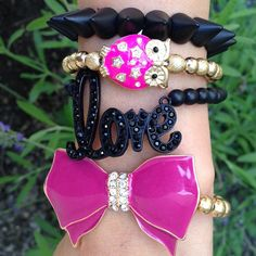 This is such a cute set of bracelets!