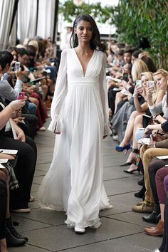 Robe de mariée Aliocha - Automne Hiver 2015 - New York - Delphine Manivet