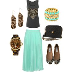 Summer Jungle, created by jackieboyd on Polyvore