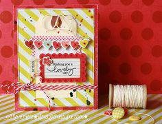 ★Scraptherapie★: {Wishing you a lovely day}