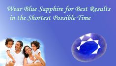 Blue Sapphire Gemstone is the most effective gemstone, which gives results in the shortest possible time. It is worn to reduce the ill effects of Saturn (Shani). It brings happiness, health and prosperity longevity and provides protection against evil spirits.
