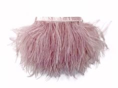 1 Yard - Taupe Ostrich Fringe Trim Wholesale Feather