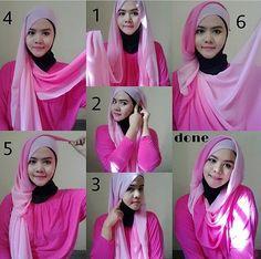 #hijab #shawl #tutorial #stepbystep