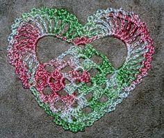 three inch heart freebie pattern. Cute. Thanks so for share xox