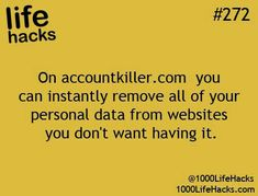 Improve your life one hack at a time. 1000 Life Hacks, DIYs, tips, tricks and More. Start living life to the fullest! Hack My Life, Simple Life Hacks, Useful Life Hacks, Awesome Life Hacks, Life Hacks Websites, The More You Know, Good To Know, 1000 Lifehacks, Recherche Internet