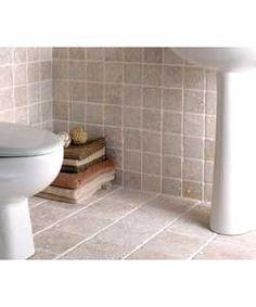 Bathroom Tiles Homebase pietra floor tiles - beige - 450 x 450mm - 5 pack at homebase