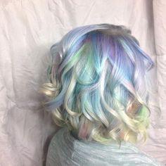 Opal Hair by Jesseline in London, Ontario, Canada  @colournkutz_by_jesseline  #opalhair #unicornhair #instahair