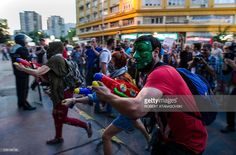 Mazedonien Proteste in Skopje.