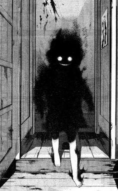 I write horror. I love horror, movies, comics and novels. Arte Horror, Horror Art, Art And Illustration, Dark Anime, Fantasy Kunst, Fantasy Art, Creepy Art, Scary, Anime Negra