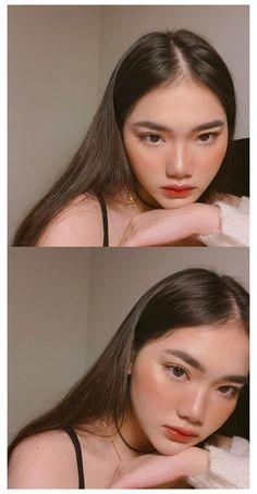 Makeup Korean Style, Korean Makeup Tips, Korean Makeup Tutorials, Korean Makeup Ulzzang, Korean Makeup Tutorial Natural, Makeup Style, Hair Korean Style, Ulzzang Makeup Tutorial, Hair Tutorials