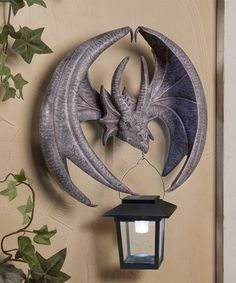 Loving this Dragon Sconce on #zulily! #zulilyfinds