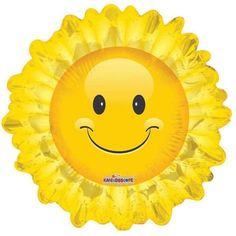 """28"""" Sunflower Helium Shape Conver Foil Balloon (1 per package):Amazon:Toys & Games"""