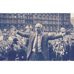 Shankly is our hero, he showed us how to play.