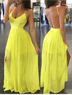 Julia Open Back Maxi Dress