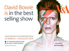 David Bowie is... 23 March-11 August - London, UK