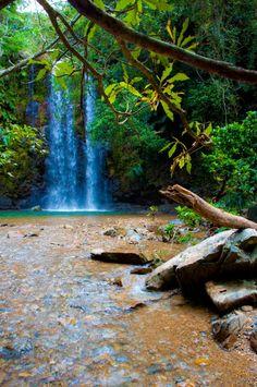 Tedake Falls, Okinawa, Japan
