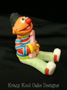 Ernie Cake Topper by KrazyKoolCakeDesigns on Etsy