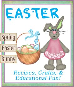 great collection of Easter crafts and recipes