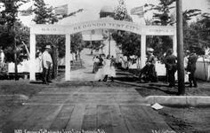 Early 1900's Redondo Beach tent city.
