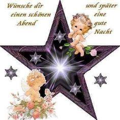 Gute nacht spruch süß Photo Frame Design, Good Night, Earthy, Christmas Ornaments, Holiday Decor, Stress, Angel, Illustrations, Humor