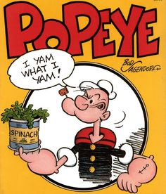 """I'm so tempted, a Popeye tattoo saying, """"I yam what I yam"""" would be so cute, but I don't know that I could go through with it."""