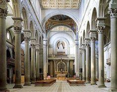 San Lorenzo a Florència, Filippo di Ser Brunellesco Lapi o Filippo Brunelleschi(Itàlia 1377 – Itàlia 1446), 1421 – 1470, Florència, Viquipèdia.