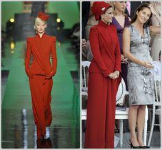 Sheikha Mozah bint Nasser Al Missned #Charismatic #Fashionista In Jean Paul Gaultier
