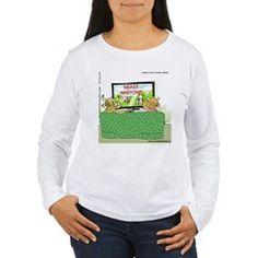 #GreysAnatomy womens LS #Tees @cafepress @LTCartoons #tv #cartoon #sale #tshirts #clothing #art #humor #sale