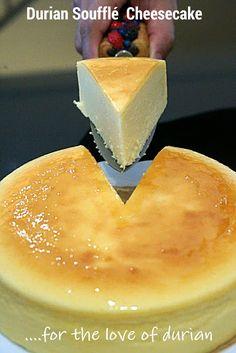 Kitchen Corner: Red Prawn Durian Soufflé Cheesecake