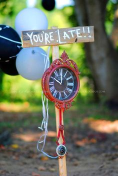 vintage Alice in Wonderland-tea party Birthday Party Ideas | Photo 8 of 21 | Catch My Party