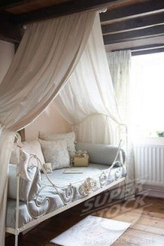 Canopy idea I love for My little Girls room