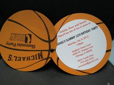 Basketball Invitation by BMeDesignsInc on Etsy, $20.00 #craftysteals and #thirdthursdaychallenge