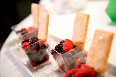 Grand Marnier Marinated Berries with Sugar Cookies by Ridgewells Catering
