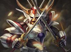 Ronin Warriors White Inferno Armor by PTimm.deviantart.com on @DeviantArt
