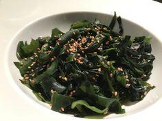 https://flic.kr/p/PfxG59 | Ensalada de alga wakame | Alga wakame. koketo.es/alga-wakame @chefkoketo