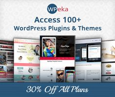 WPeka Club Now Has 100+ WordPress Themes And Plugins - HowToWebDesign