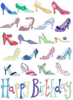 Shoe lover Birthday
