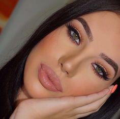 Gorgeous Makeup: Tips and Tricks With Eye Makeup and Eyeshadow – Makeup Design Ideas Perfect Makeup, Gorgeous Makeup, Pretty Makeup, Love Makeup, Makeup Inspo, Makeup Inspiration, Perfect Brows, Daily Makeup, Makeup Style