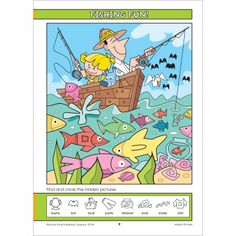 Fun, bold illustrations make Hidden Pictures Around the World Activity Zone Workbook so much fun.