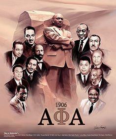 Men Of Distinction II by Wishum Gregory Alpha Kappa Alpha Founders, Alpha Fraternity, Alpha Kappa Alpha Sorority, Delta Sigma Theta, College Sorority, Aka Sorority, Happy Founders Day, Black Fraternities, Omega Psi Phi